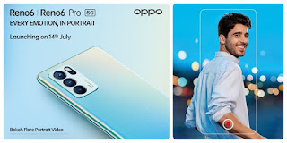 Oppo Reno 6 5G and Reno 6 Pro launched in india : Price and features