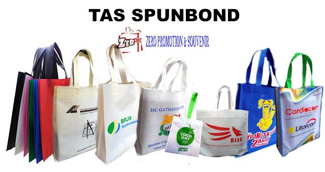 Produksi Tas Spunbond model kotak / box - goodie bag promosi