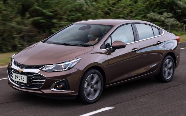 Novo Cruze Premier 2020 Sedan: preço R$ 123.990