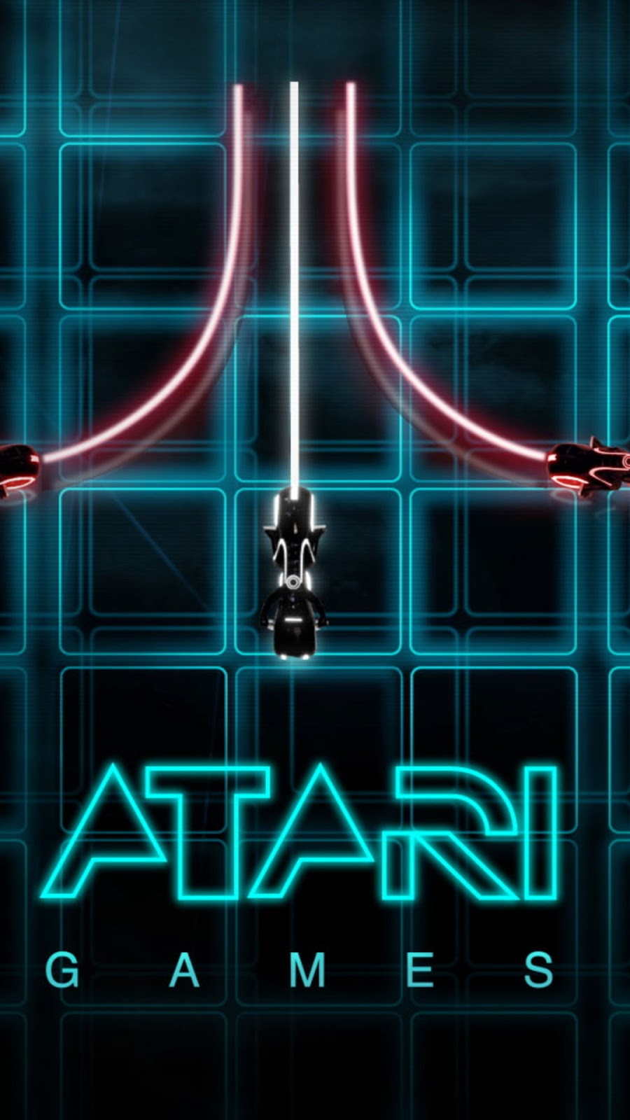 Papel de Parede Vintage Atari Video Game