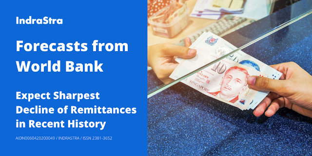 Forecasts from World Bank: Expect Sharpest Decline of Remittances in Recent History