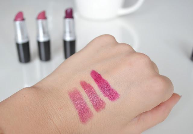 uroda, makijaż, mac, plumful, craving, rebel, fiolet na ustach,