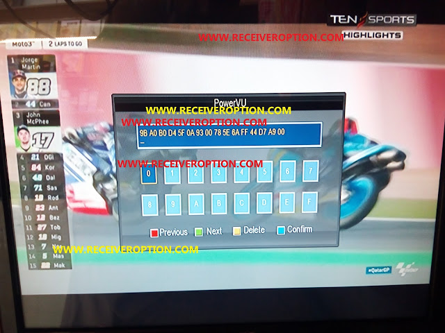 TIGER T245+ PRO HD RECEIVER AUTO ROLL POWERVU KEY NEW SOFTWARE