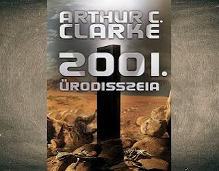 Arthur C. Clarke 2001 Űrodüsszeia könyv