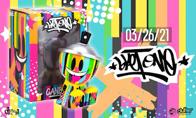 The Phase One Canbot Vinyl Figure by Sket One x Czee13 x Clutter