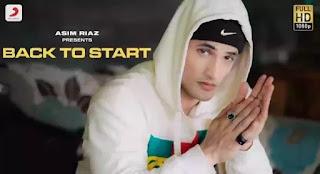 Back To Start Lyrics - Asim Riaz