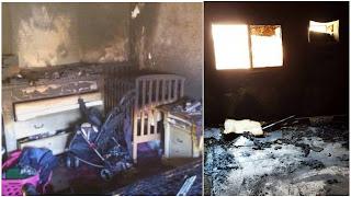 بالفيديو حريق في حي جلاص بالزهروني يأدي إلى تفحم طفل عمره سنتين و إنقاذ آخر