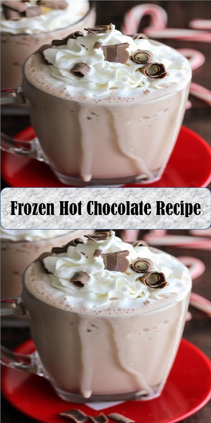 #Yummy #Frozen #Hot #Chocolate #Recipe
