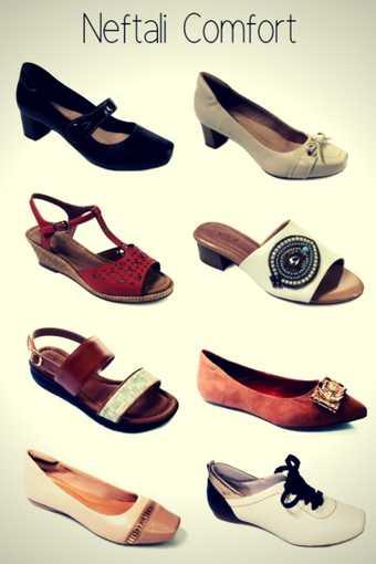 Marca de Calçados Confortáveis Femininos Neftali Comfort
