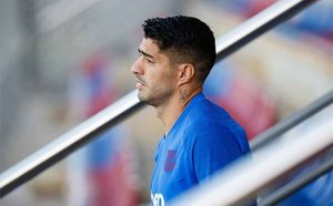 Good news for FC Barcelona as Luis Suárez returns to full training