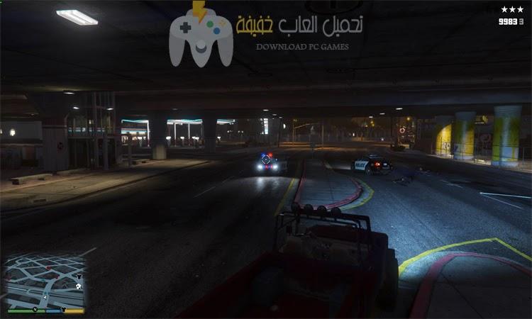 تحميل لعبة جاتا 5 للكمبيوتر من ميديا فاير