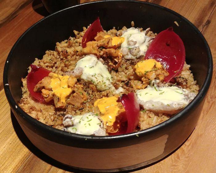 Mixed chahan at Ooma Japanese Restaurant