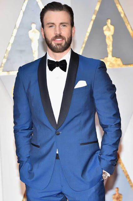 Chris Evans at 89th Annual Academy Awards