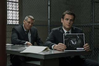 Mindhunter serie  Bill Tench y Holden Ford