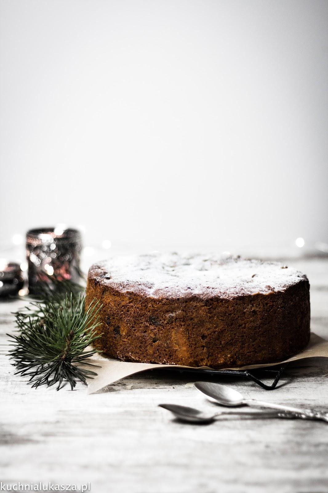 Christmas cake - Angielskie ciasto świąteczne
