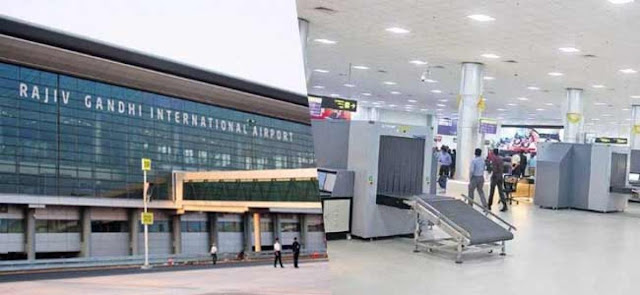 Advertise In Hyderabad Airport
