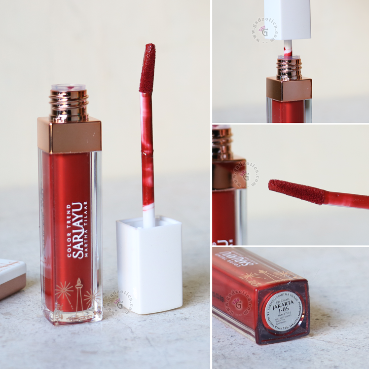 Review Sariayu Matte Lip Cream J05