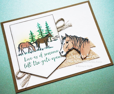 Heart's Delight Cards, Let It Ride, MIFDC18, Stampin' Up!