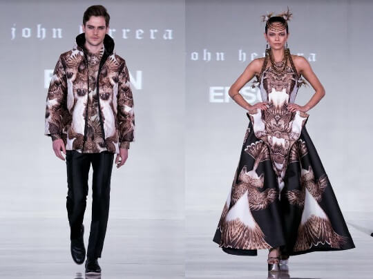 Epson and John Herrera Team Up for London Fashion Week 2017