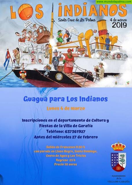 Garafía abre plazo de inscripción para la Guagua de Los Indianos