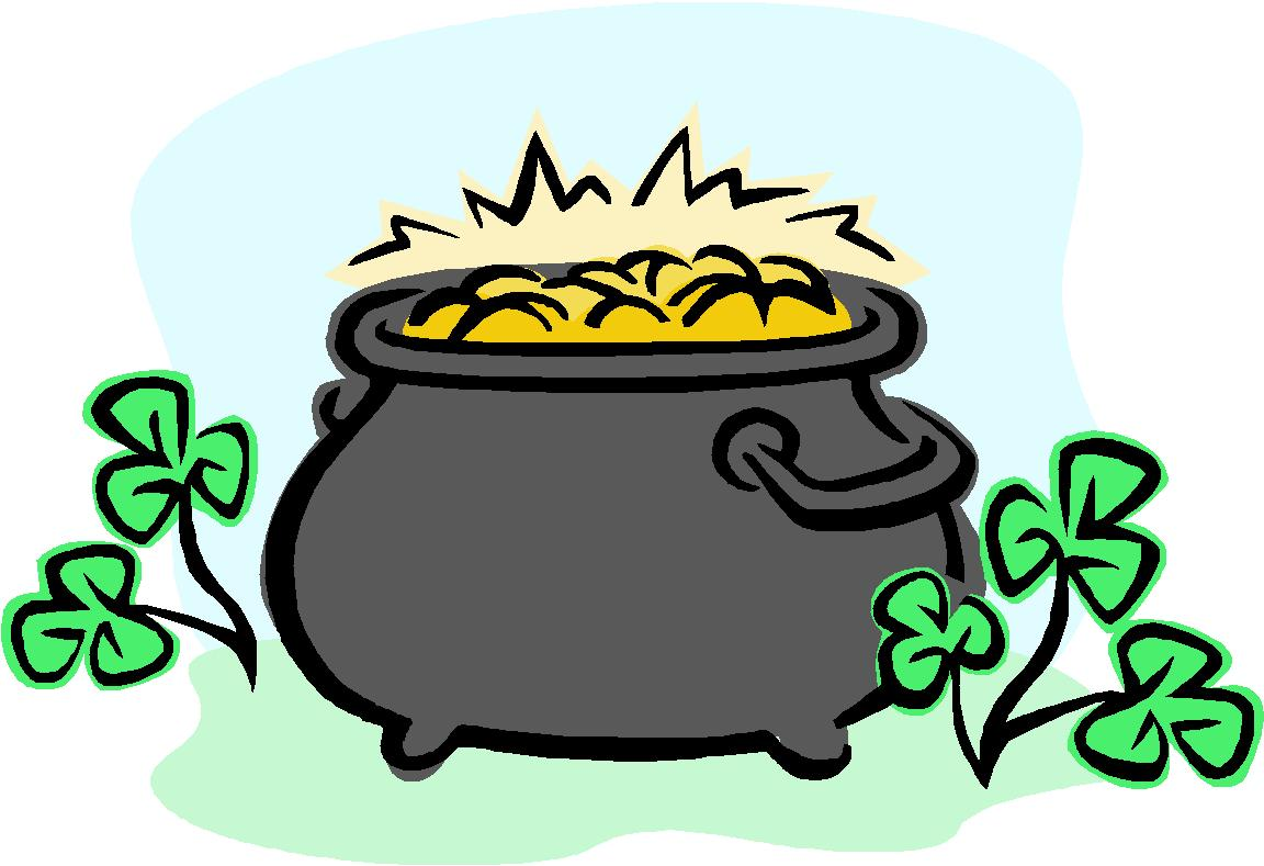 Leprechaun Pot Of Gold Clipart at GetDrawings | Free download |Pot Of Gold Clipart