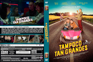TAMPOCO TAN GRANDES 2018 [COVER – DVD]