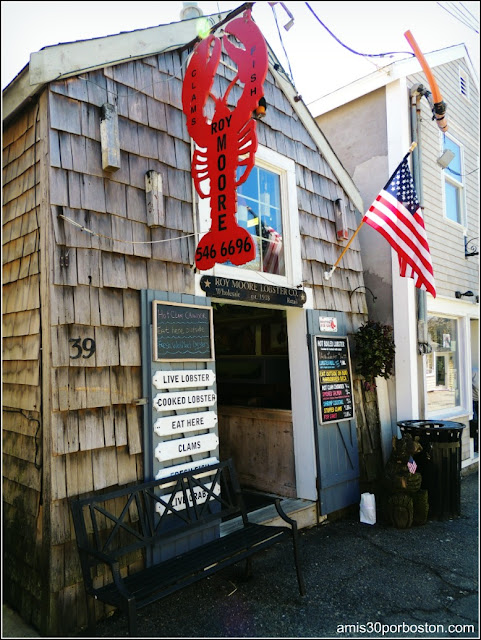 Lobster Shacks en Massachusetts: Roy Moore Lobster Company