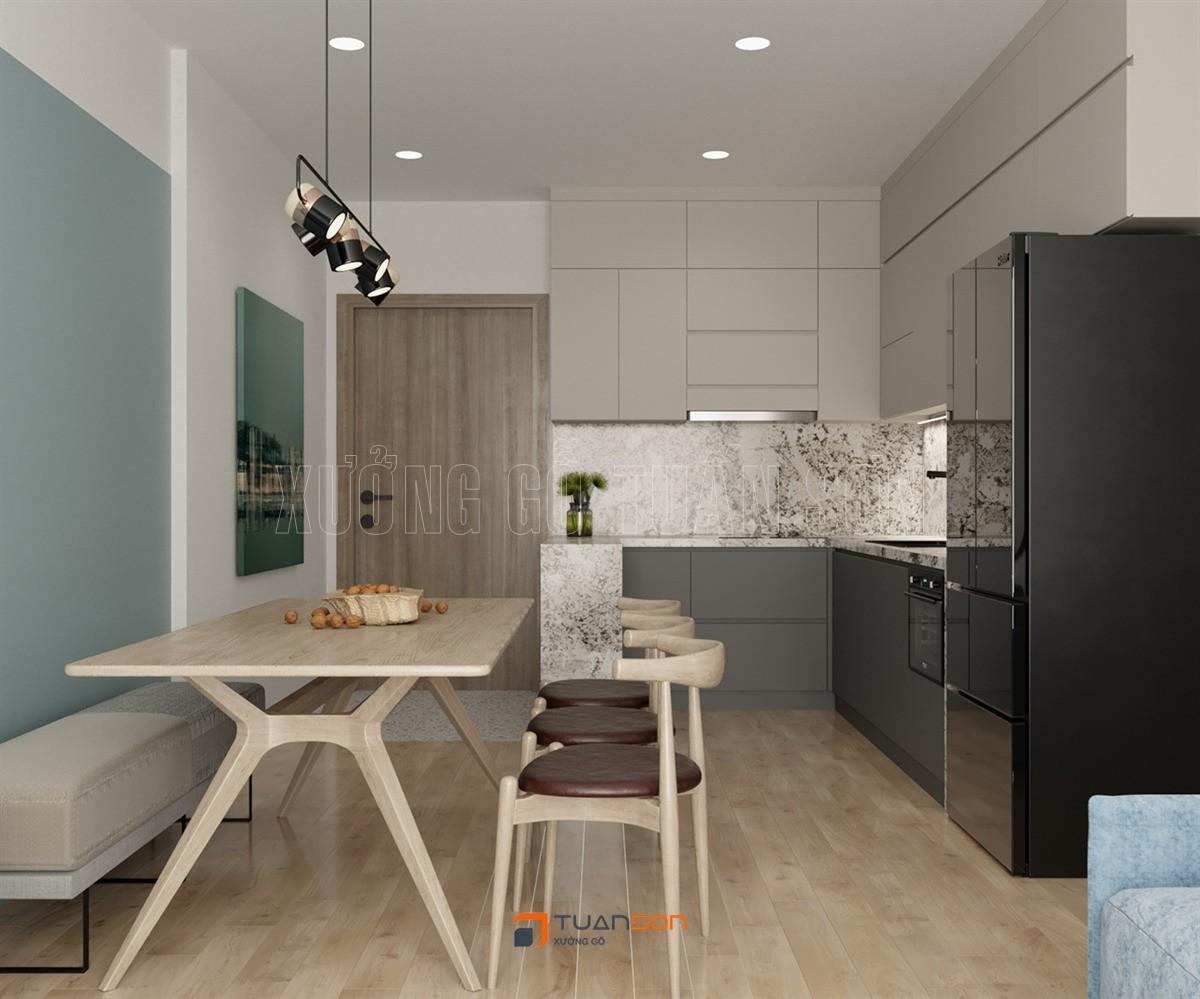 Thiết kế nội thất phòng khách: Phong cách Scandinavian (Bắc Âu) sang trọng