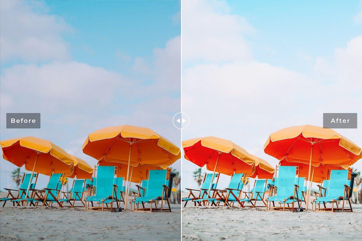 Preset Dành Cho Ảnh Du Lịch Biển – Cocoa Beach Pro Lightroom Presets (XMP, DNG, LR)