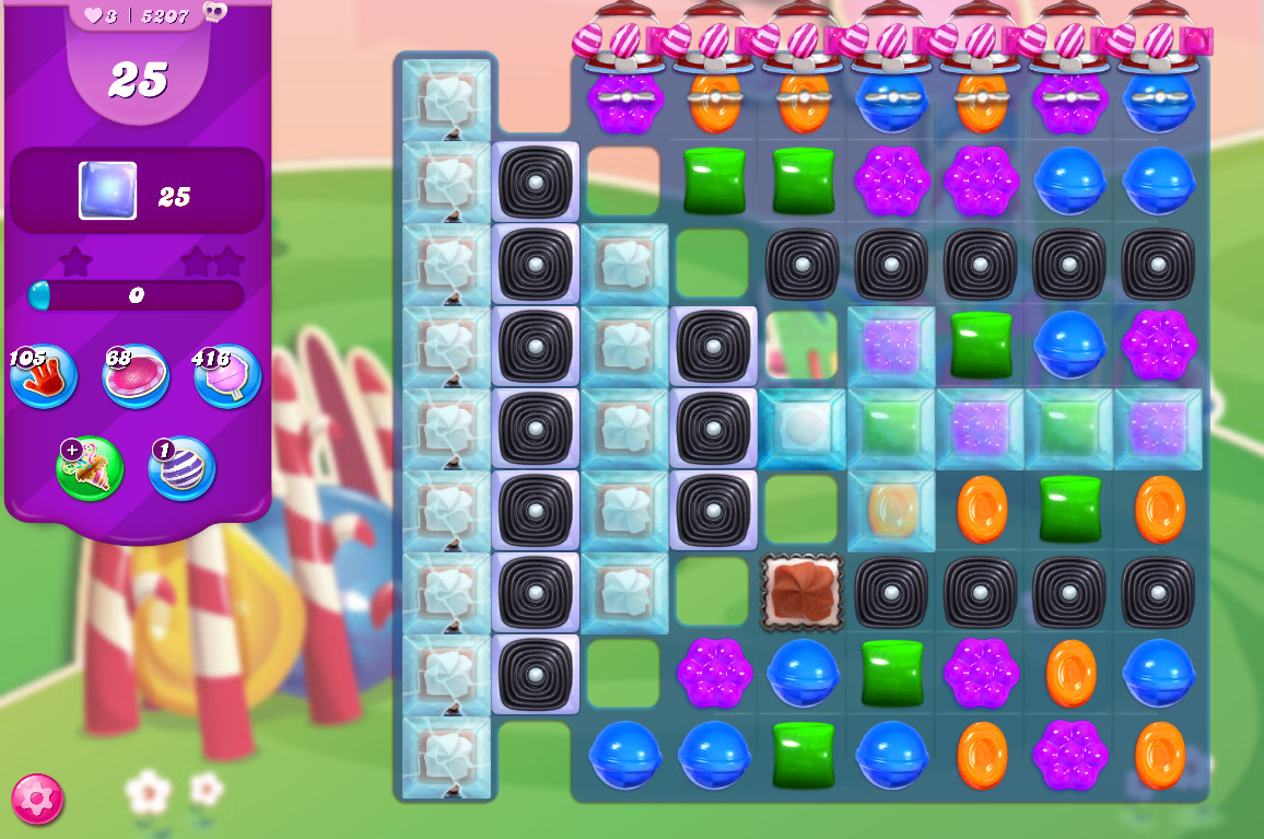 Candy Crush Saga level 5207