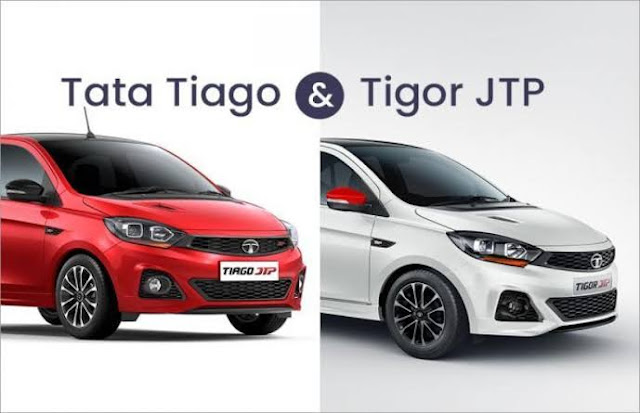 Upgraded Tata Tiago JTP and Tigor JTP launched in India