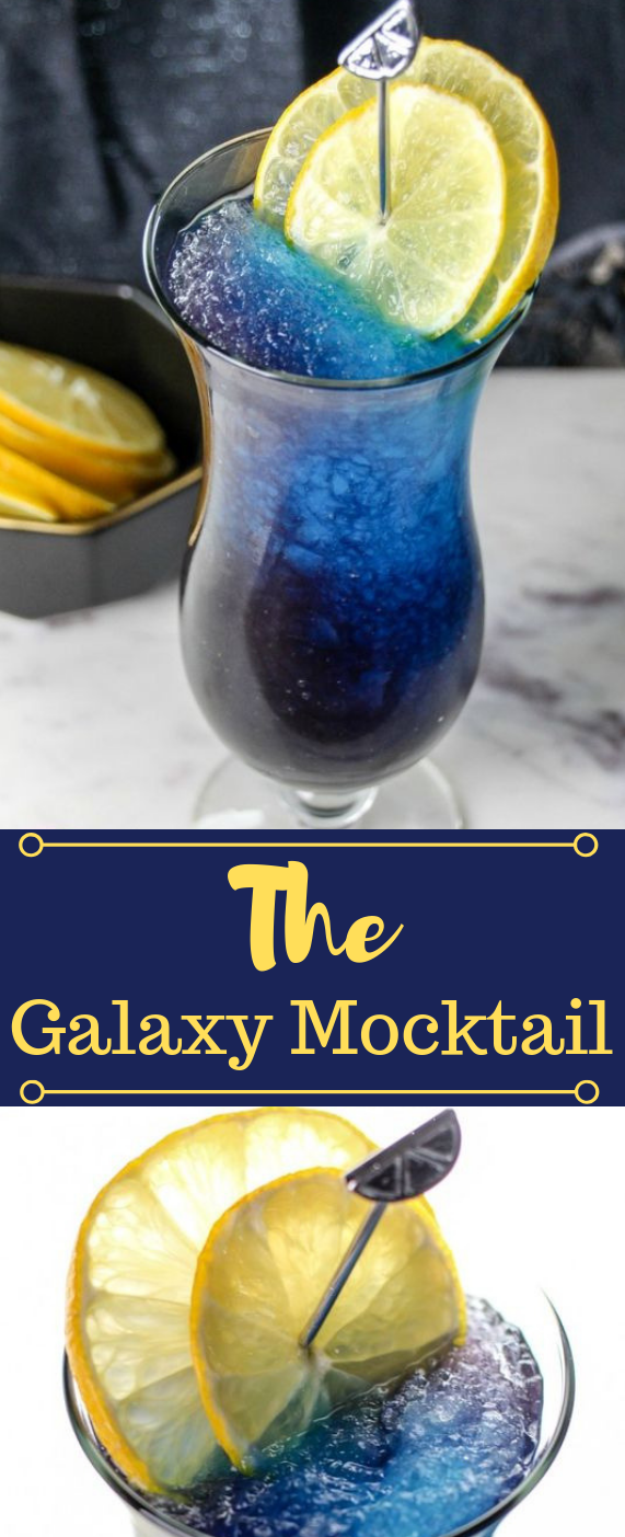 THE GALAXY MOCKTAIL #drink #cocktail #party #sangria #smoothie