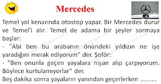 Mercedes - Temel Fıkraları - Komikler Burada