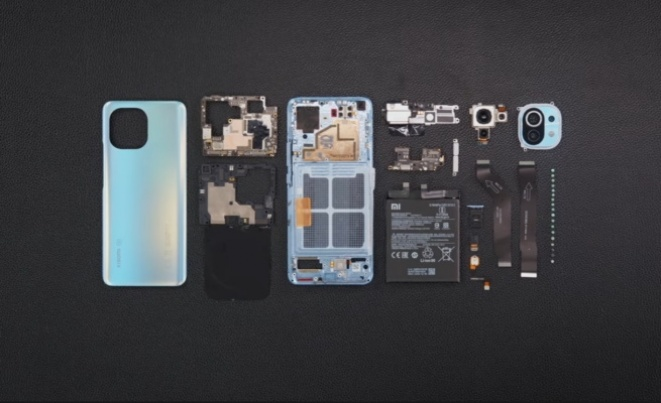 Xiaomi Mi 11 disassembly
