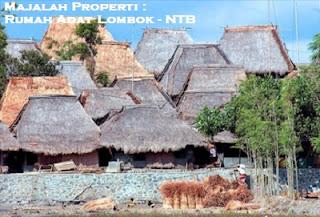 Desain Bentuk Rumah Adat NTB dan Penjelasannya, Rumah Adat Lombok
