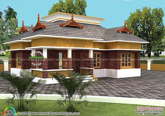 Single floor 18 Lakh Home Design