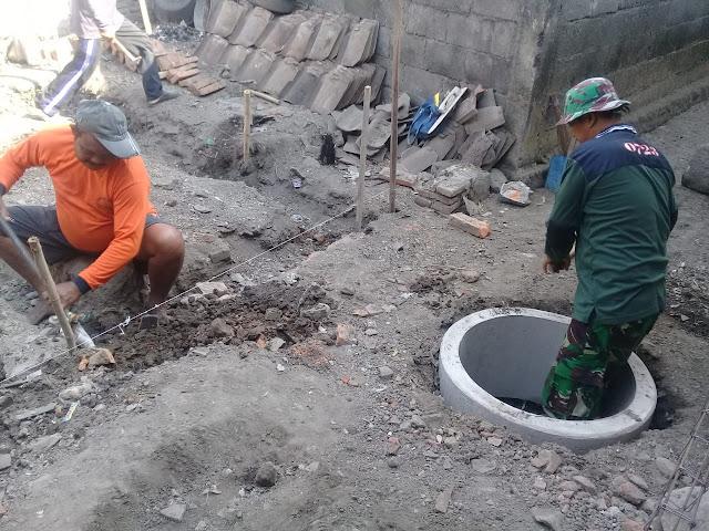 Purwadi Lega, Jambannya Sudah Mulai Digarap TNI Dan Warga