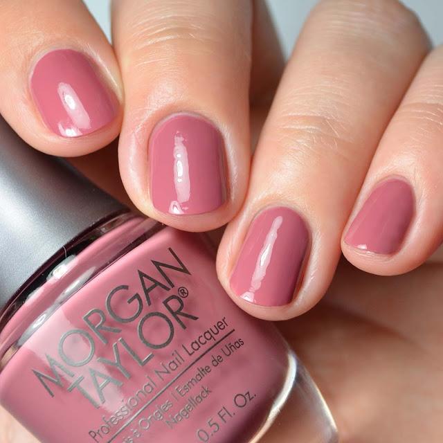 mauve creme nail polish