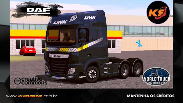 DAF XF - LINK INTERNATIONAL TRANSPORT