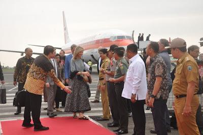 Ratu Maxima Tertarik dengan Program Pengembangan Jagung di Era Pemerintahan Gubernur Ridho
