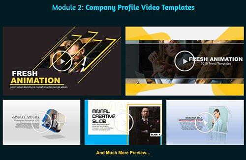 INOVAVID Company Profile Video Templates
