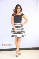 Actress Mi Rathod Pos Black Short Dress at Howrah Bridge Movie Press Meet  0011.JPG