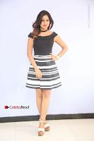 Actress Mi Rathod Pos Black Short Dress at Howrah Bridge Movie Press Meet  0011.JPG