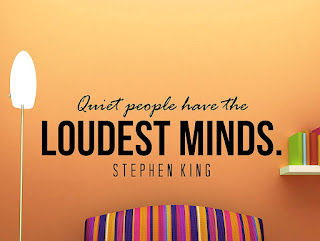 Stephen King Quote Vinyl Wall Decal, Stephen King Home Accessories, Stephen King Store