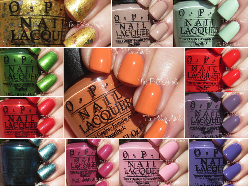 the polishaholic opi spring 2015 hawaii collection swatches review