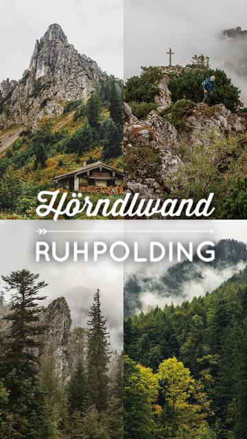 Ruhpolding  - Hörndlwand  Wandern Bayerische Alpen  Wanderung-Ruhpolding  Bergtour-Bayern  Wandern-im-Chiemgau 20