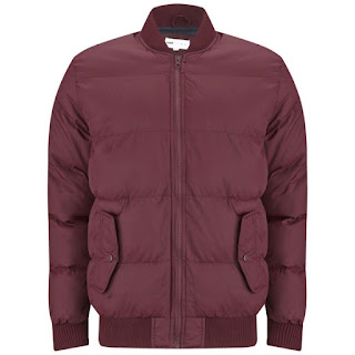 55 Soul Men's Lynx Jacket - Burgundy - 12,15€