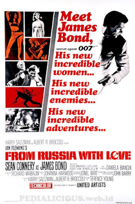 Sinopsis film From Russia with Love (1963)