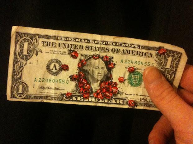 Art Of Donovan Clark Money Art. Project Painting
