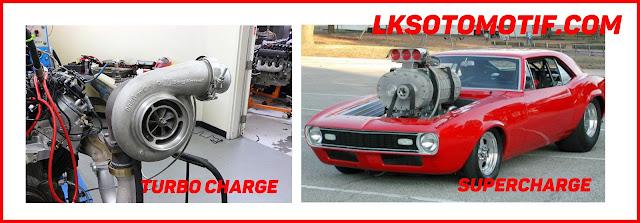 perbedaan turbo charge dengan super charge